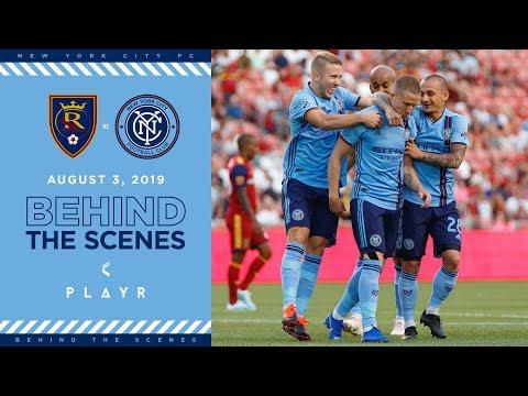BEHIND THE SCENES | Real Salt Lake vs. NYCFC | 08.03.19