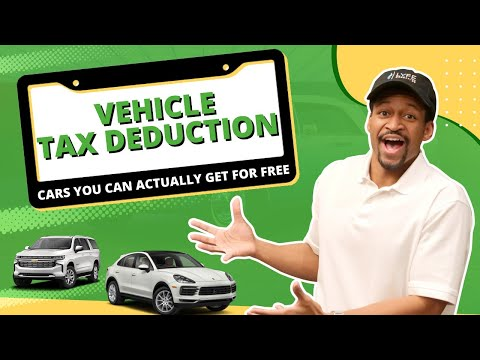 Vehicle Tax Deduction: 8 Cars You Can Get FREE - Section 179