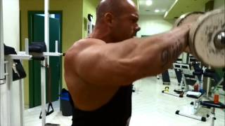 JOHN ADAMS SHOULDER WORKOUT MOTIVATION 2015 IFBB BODYBUILDING