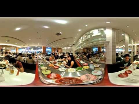 Ricoh Theta S 360° video - Sukishi buffet in Central Grand Rama 9