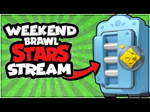 [Brawl Stars Live] Weekend Stream Gemming and Playing with Subscribers