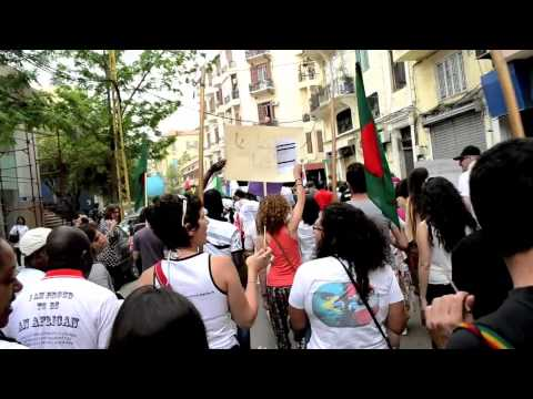 Migrant Workers Parade in Beirut 2012