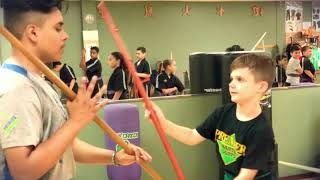 Summer martial arts classes enrolling now!! Go to karateri.net or call 4012190166 for a free trial !