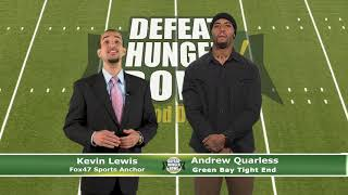 Defeat Hunger Food Drive – Thanks
