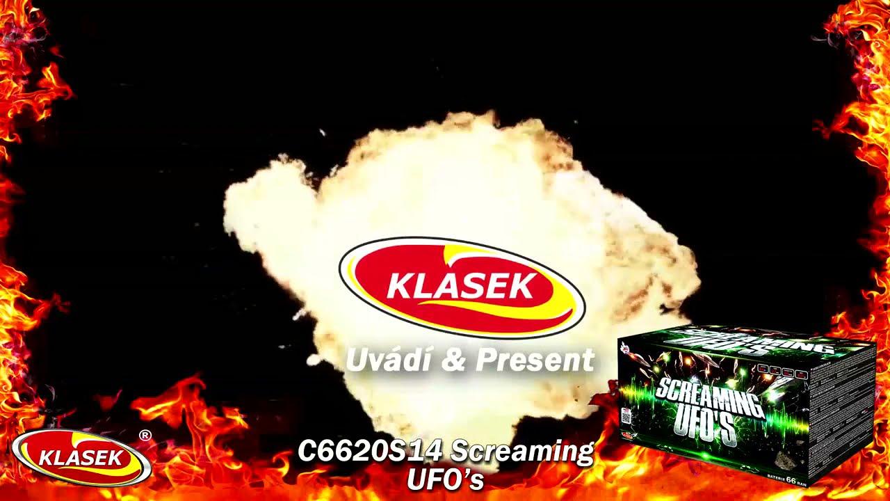 Screaming UFO's Whistle Cake by Klasek Fireworks
