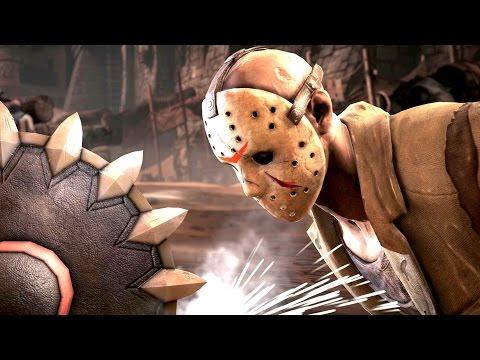 Mortal Kombat X Jason Voorhees Brutal Ladder