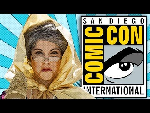 Abuela Visits The San Diego Comic Con | mitú
