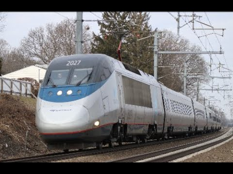 America's Fastest Train - Acela Express Compilation