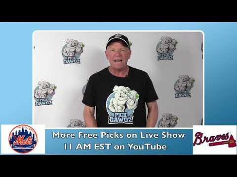 Atlanta Braves vs New York Mets Free Pick 8/3/20 MLB Pick and Prediction