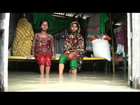 Recent water flood damage and fighting for life in Bangladesh part-1