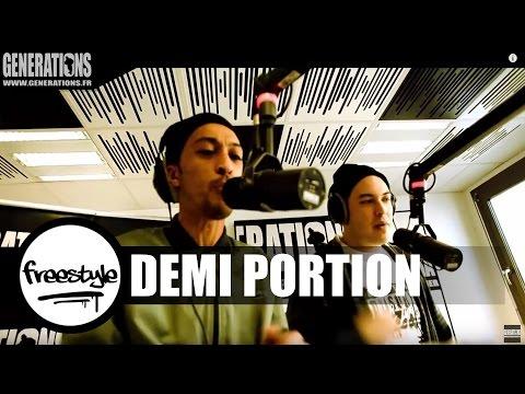 Demi Portion & DJ Roc J - Freestyle #RocJRadioShow (Live des studios de Generations)