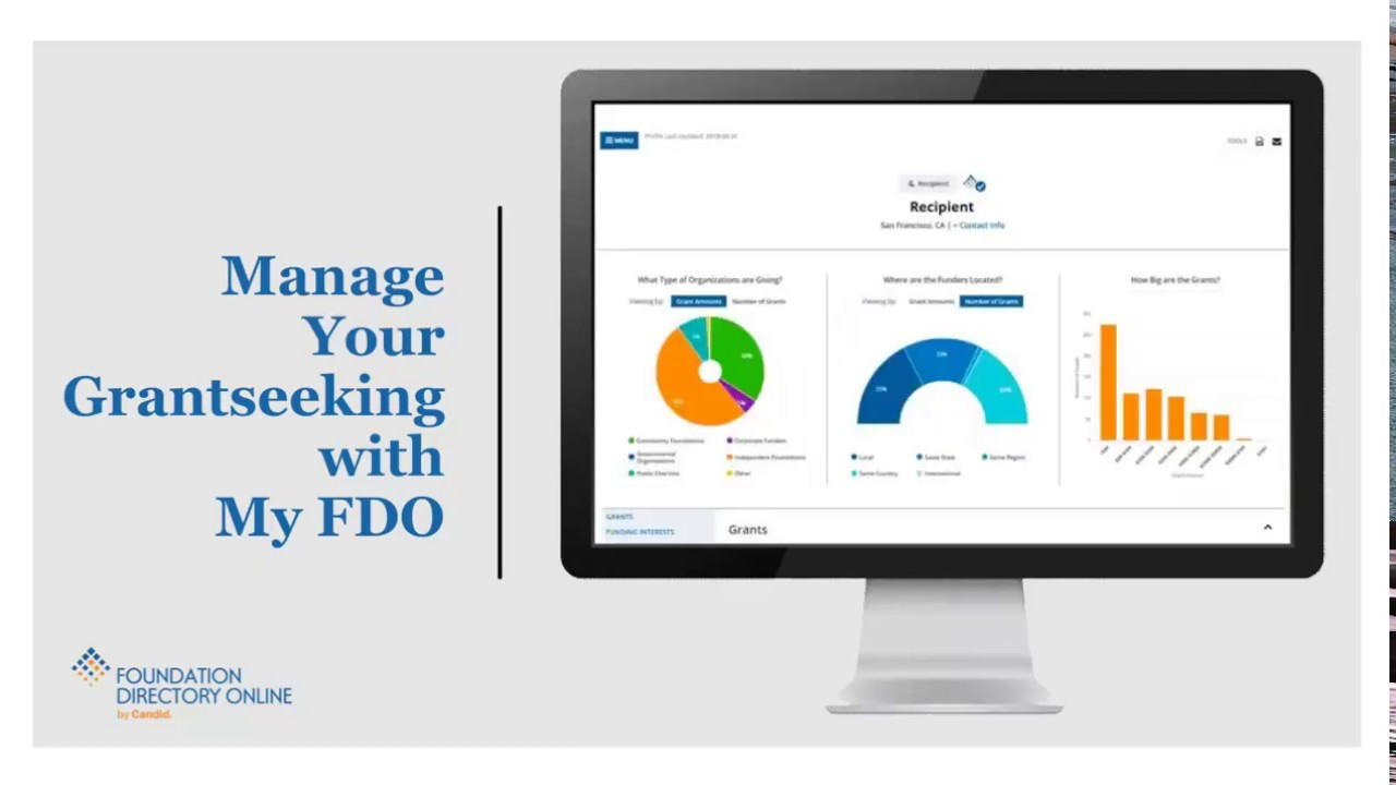 Manage Your Grantseeking With My FDO