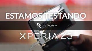 Sony Xperia Z3: estamos testando - TecMundo