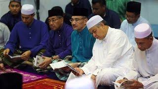 Zahid sertai bacaan Yasin sempena LIMA'17