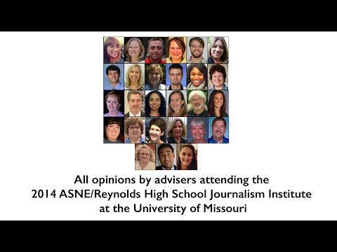 The purpose and value of scholastic journalism