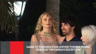 Game Of Thrones Star Sophie Turner Turns Heads At Priyanka's Reception