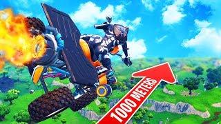 Flying Quad Crasher Over Fortnite Map *GLITCH* Fortnite Battle Royale