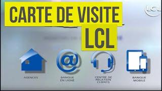 LCL - Carte de Visite 2016