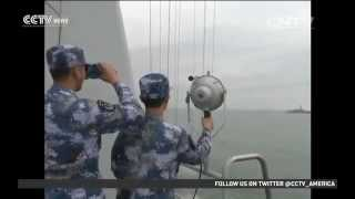 china us warships conduct joint drill