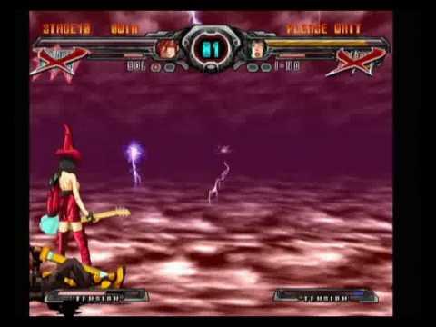 Guilty Gear XX Accent Core (Wii): Boss I-NO
