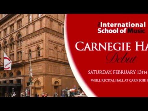 International School of Music Performing at Carnegie Hall