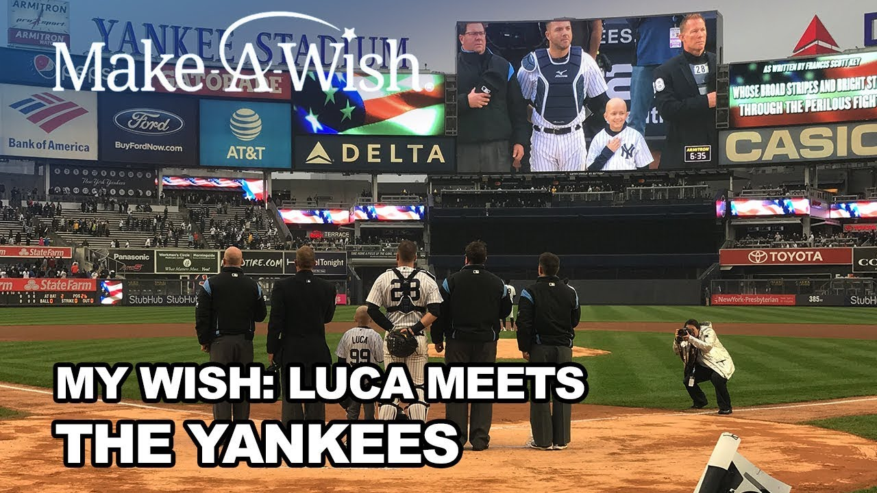 My Wish: Luca Meets the Yankees (Trailer) | Make-A-Wish®