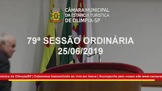 79ª Sessão Ordinária - parte 1 - 2019