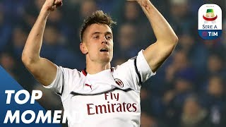 Piątek scores wonderful goal against Atalanta | Atalanta 1-3 Milan | Top Moment | Serie A