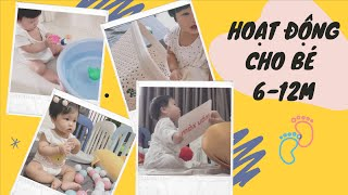 9 HOẠT ĐỘNG THÚ VỊ GIÚP BÉ PHÁT TRIỂN GIAI ĐOẠN 6-12 THÁNG TUỔI// My Thuan Family