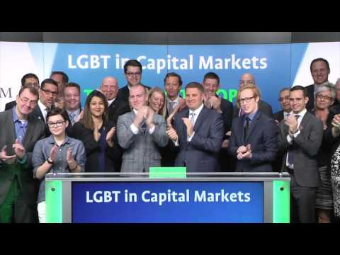 LGBT in Capital Markets opens Toronto Stock Exchange, March 27, 2017