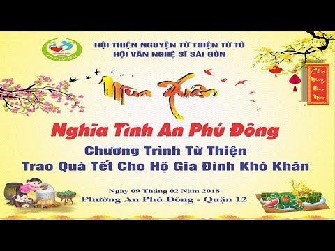 Nghệ Sĩ Phát Qùa Xuân Tại An Phú Đông Q12