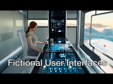 FUI - Fictional User Interfaces