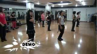 Piece Of Cake(k-pop) - Line Dance(walk-through & Demo)