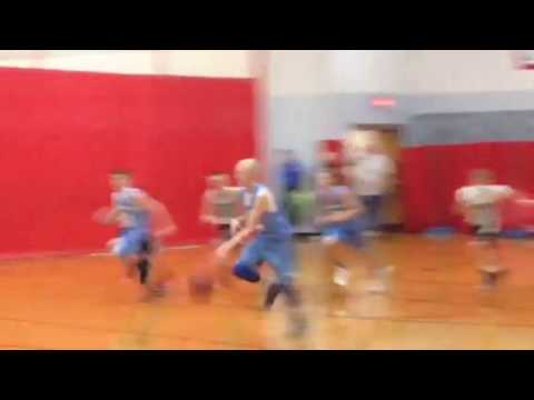 Mineral Point Middle School Basketball @ IG 2015-16 - 3 blocks on 1 play