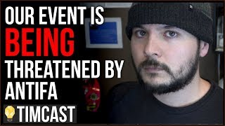 Tim Pool Addressing The Threats Against Our Event By Antifa