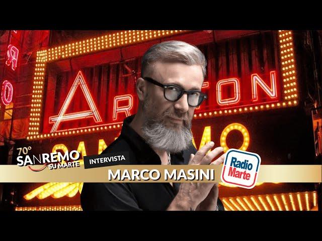 SANREMO SU MARTE! Intevista a Marco Masini