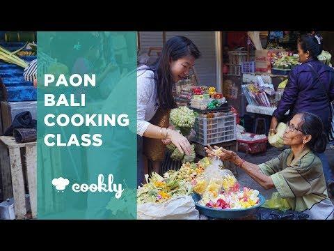 Paon Bali Cooking Class in Ubud, Bali