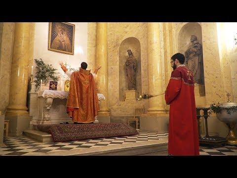 Армянская литургия в С-Петербурге