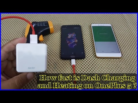 Oneplus 5 Charging Speed Test with Dash Charge and Heating issues ?
