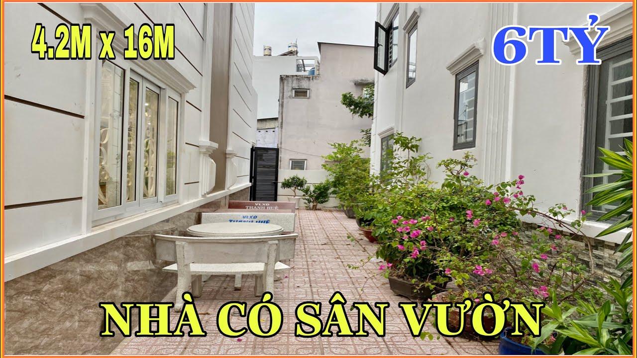 Bán nhà Gò Vấp   321 ] Cặp nhà đẹp 3 lầu tặng sân vườn rộng trồng cây Quang Trung P11 giá hơn 6 tỷ