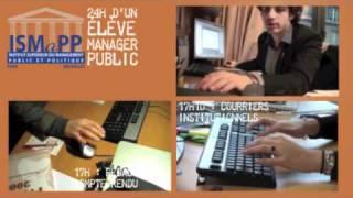 Reportage - 24h dans la vie des élèves managers publics