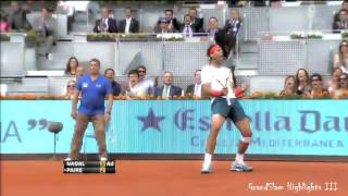 Rafael Nadal   Top 10 Unearthly Passing Shots HD
