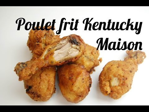 Comment faire du poulet Kentucky croustillant