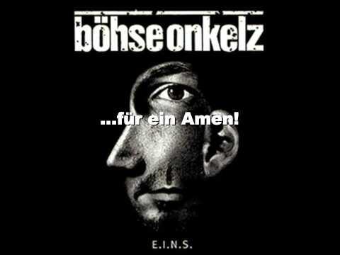Böhse Onkelz   Kirche Lyrics