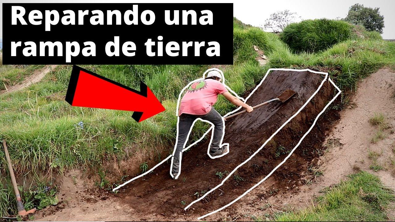 Cómo reparar una rampa | MTB Santiago De Avila