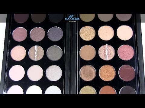 New MAC 15 Pan Palettes (Cool & Warm Neutrals): Live Swatches & Review