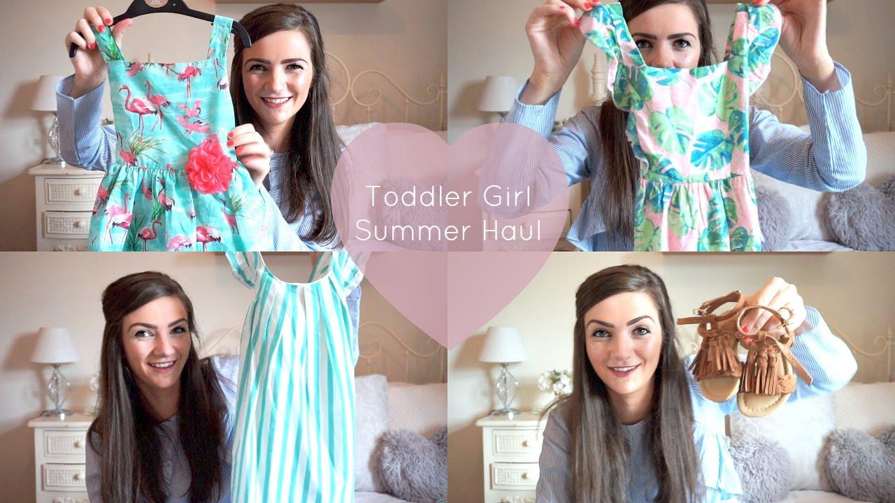 4b292cf4f21 HUGE TODDLER BABY GIRL SUMMER CLOTHING HAUL