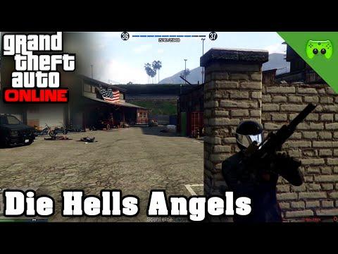 GTA ONLINE # 111 - Die Hells Angels «» Let's Play Grand Theft Auto Online | 60HD