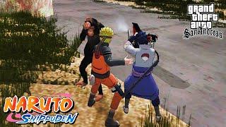 NARUTO & SASUKE MELAWAN MONYET NAKAL!! - GTA Lucu Naruto