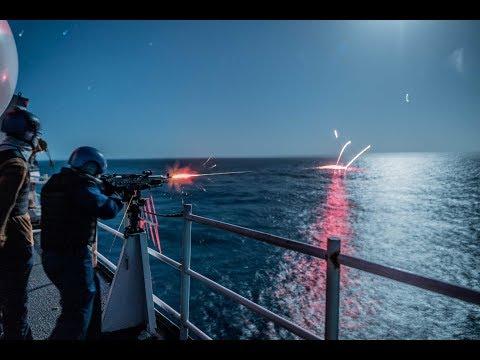 Somali Pirates vs USA & Russian private security guards 2018 #4